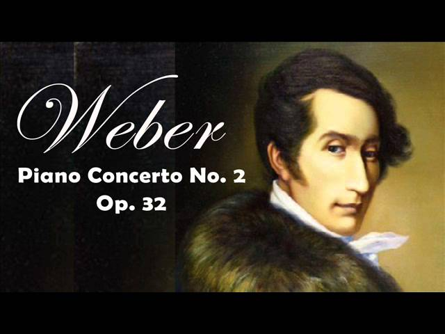 Weber: Piano Concerto No. 2, Op. 32 (Lublino Philharmonic  Orchestra) | Classical Music