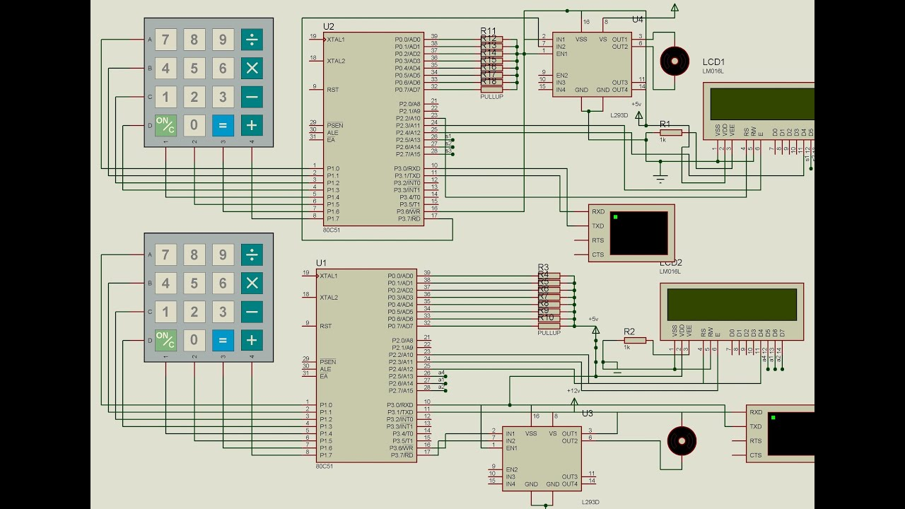 8051 Project On Bank Security By Using Rfid  Gsm Module
