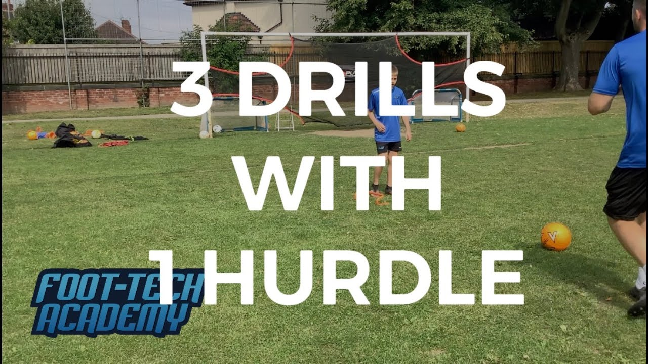 3 Football Drills With 1 Hurdle