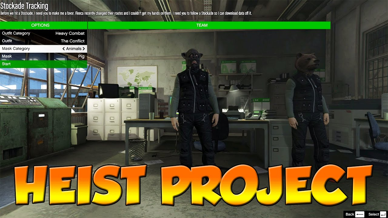 Heist Project – Create and Play Custom Heists | GTA 5 Mods & Scripts