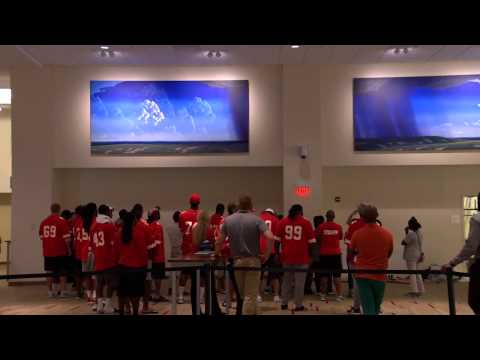 Chiefs Rookies Take a Tour of Arrowhead Stadium