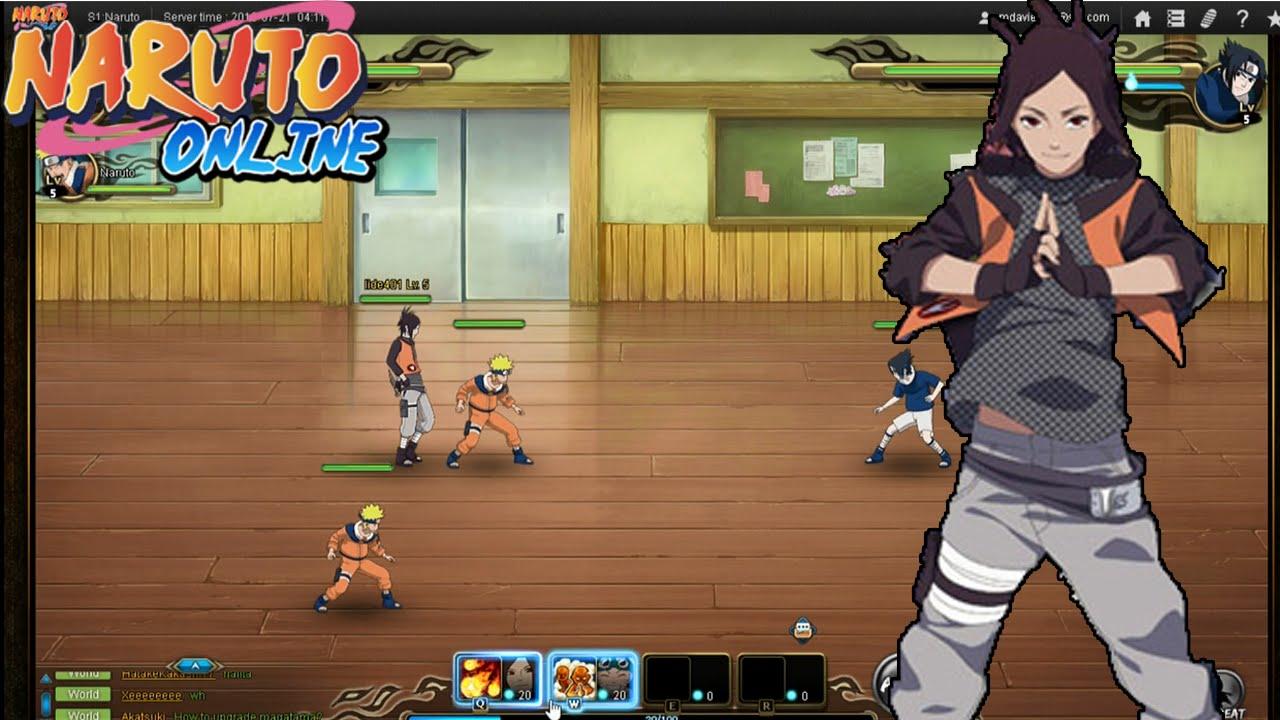 NEW NARUTO GAME!! Naruto Online MMORPG Scarlet Blaze ...