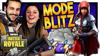 LE MODE BLITZ EST DE RETOUR ET ON TENTE LE TOP 1 ! | FORTNITE DUO FR