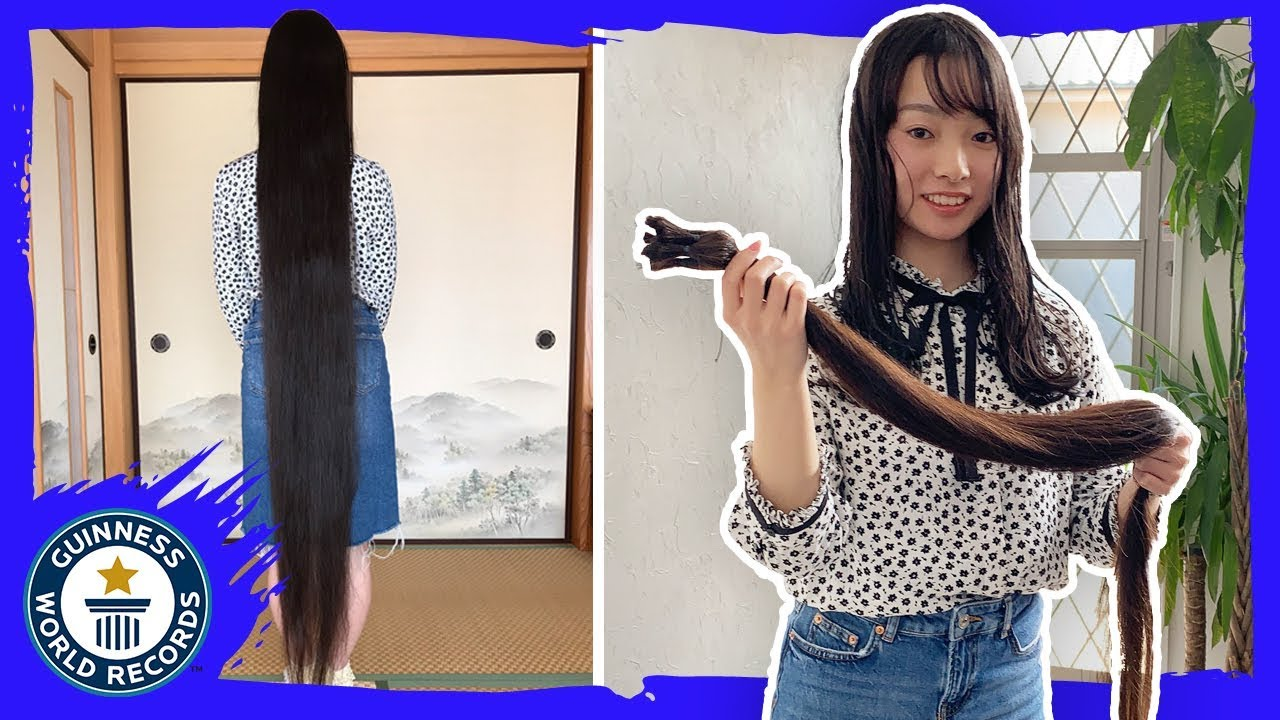 Download First ever haircut for former record holder - Guinness World Records