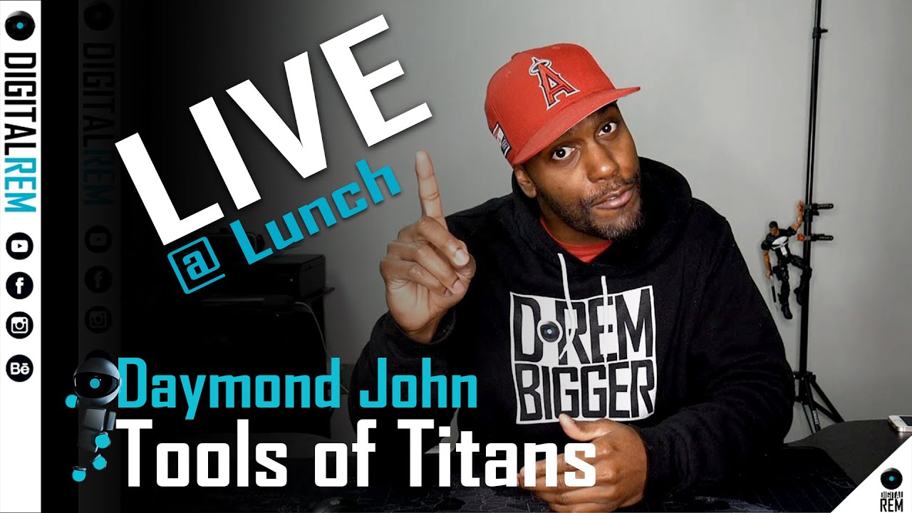 Live at Lunch |Tools Of Titans | Daymond John