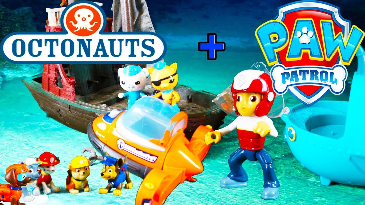 Treasure Toys Cartoon : Paw patrol special toy video episode featuring ryder
