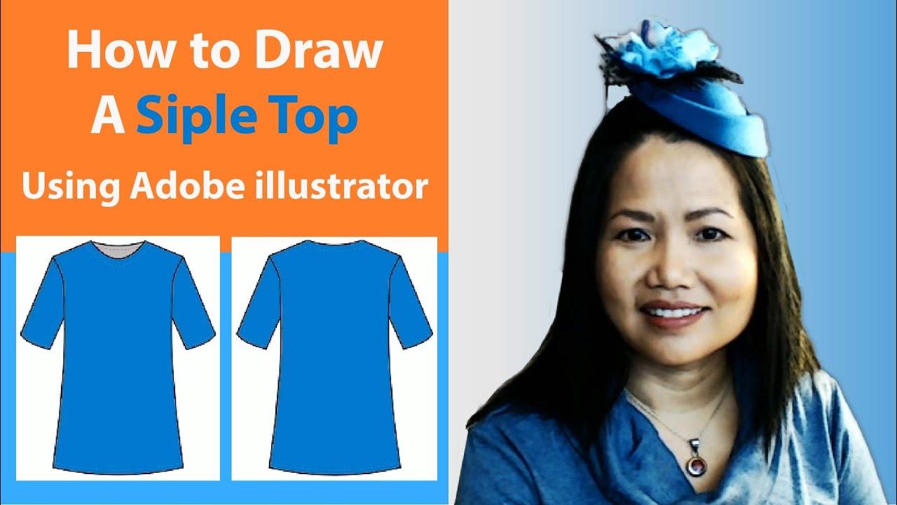 Adobe Illustrator For Fashion Design Drawing Flats Youtube