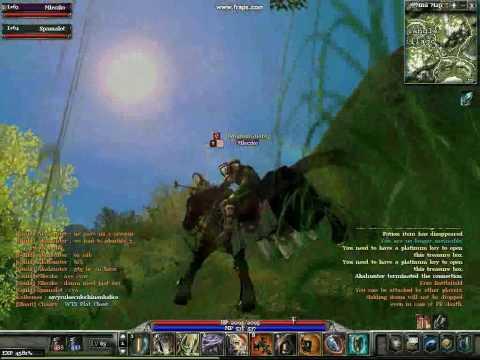Mleczko Archlord Gameplay