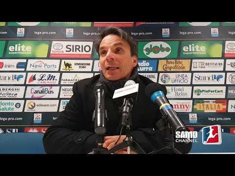 Sambenedettese - Vicenza 2-1, Ezio Capuano / Serie C Girone B 2017-18
