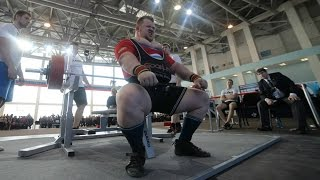 Russian Powerlifting Nationals - 2015. +120 kg