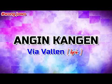 Lirik Via Vallen - Angin Kangen  ( Terbaru ) | Bubble Effect