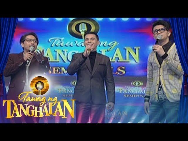 Tawag ng Tanghalan: Jhong Hilario asks Anton Antenorcruz for an advice