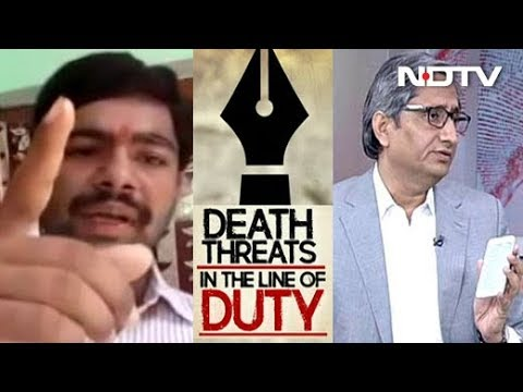 NDTV's Ravish Kumar Gets Death Threats: Are Journalists Soft Targets?