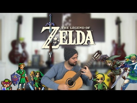 The Legend Of Zelda - The Classical Guitar Medley