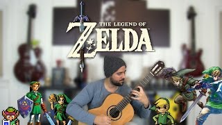 The Legend Of Zelda - The Classical Guitar Medley - Stafaband