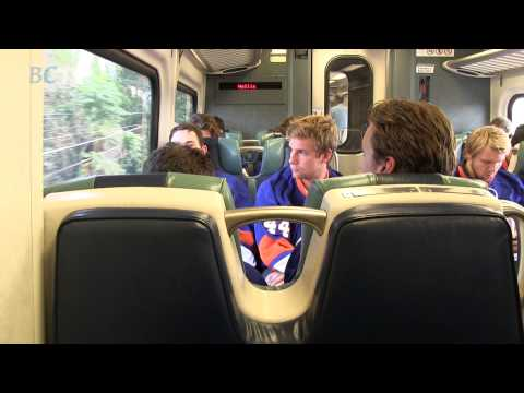Islanders Ride LIRR to Barclays Center