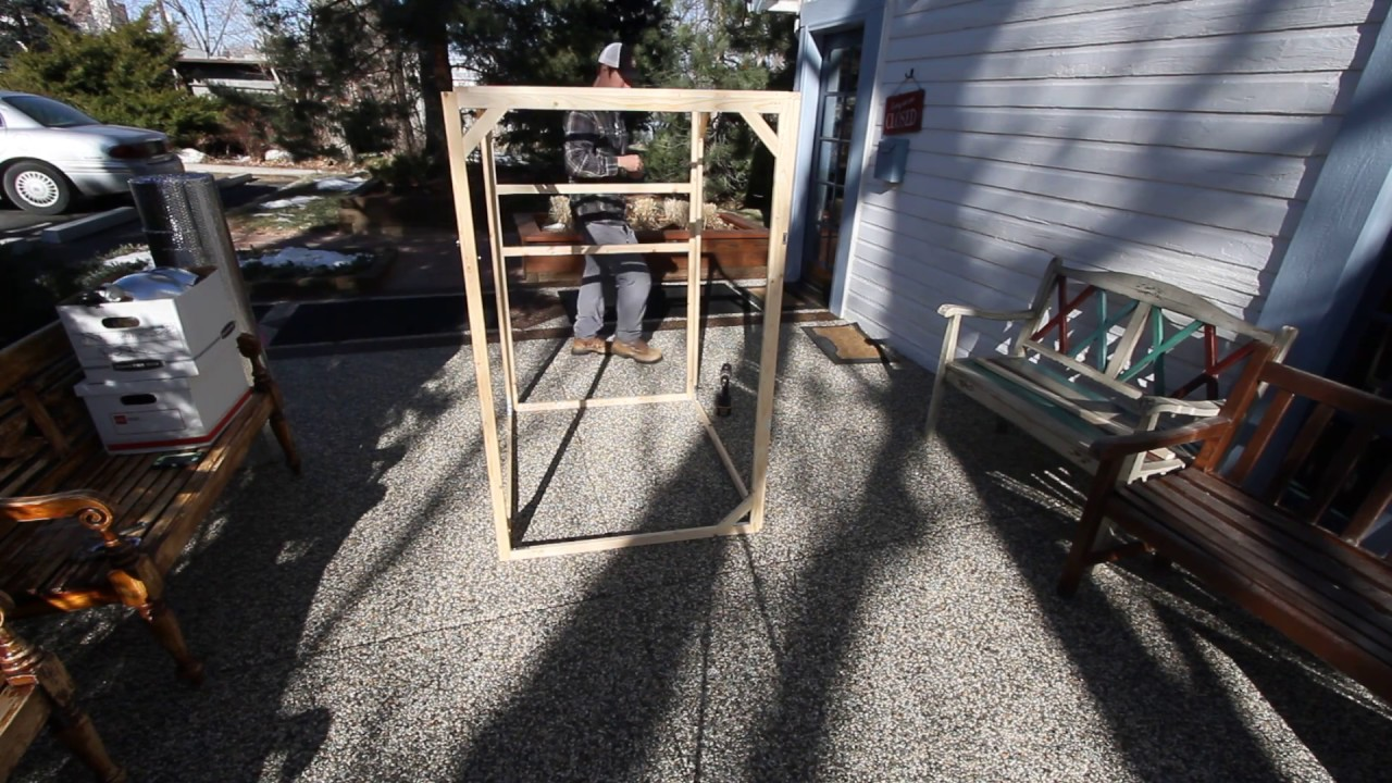 Diy Near Infrared Sauna Frame Assembly Chemical Free Youtube