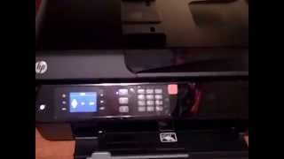 01. Unboxing and set up of HP Officejet 4630 All In One Printer