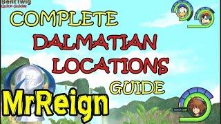 Kingdom Hearts 1.5 Hd - Final Mix - Complete Dalmatian Locations Guide - Top Dog Trophy