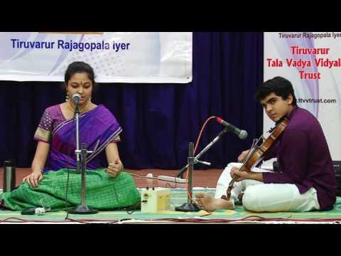 Carnatic Music Concert by Sushmita Sivakumar   Ohio   3rd Margazhi Music Program   TTVVTrust 2016