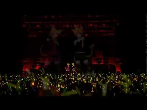 【LIVE】Trick and Treat - Kagamine Rin & Len【HD】- Sub Eng & Esp + Lyrics (Pegados)