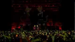 Repeat youtube video 【LIVE】Trick and Treat - Kagamine Rin & Len【HD】- Sub Eng & Esp + Lyrics (Pegados)
