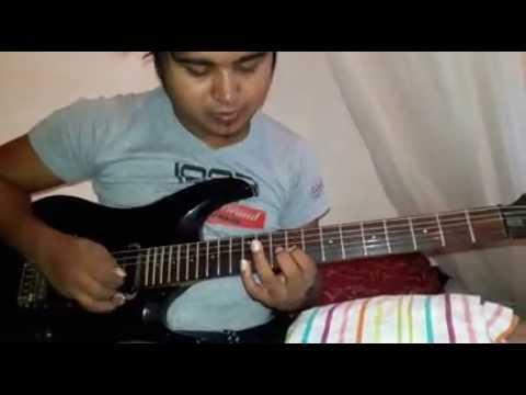 Salli Pokuru Mille Ahuru Guitar Solo