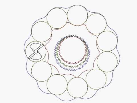 How to make a cycloidal gear