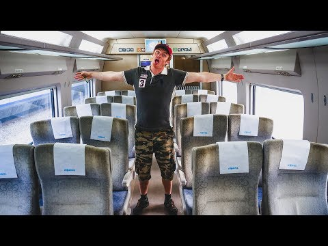Seoul To Busan KTX Train Ride (Economy Class Review) + Delicious Korean Breakfast