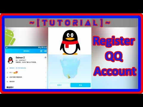 [TUTOR] Cara Lengkap Mendaftar Akun QQ