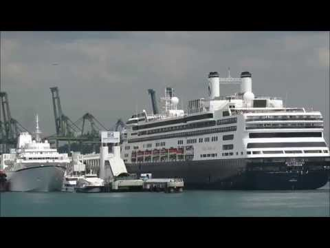 Rotterdam Arrival into  HarbourFront , Singapore