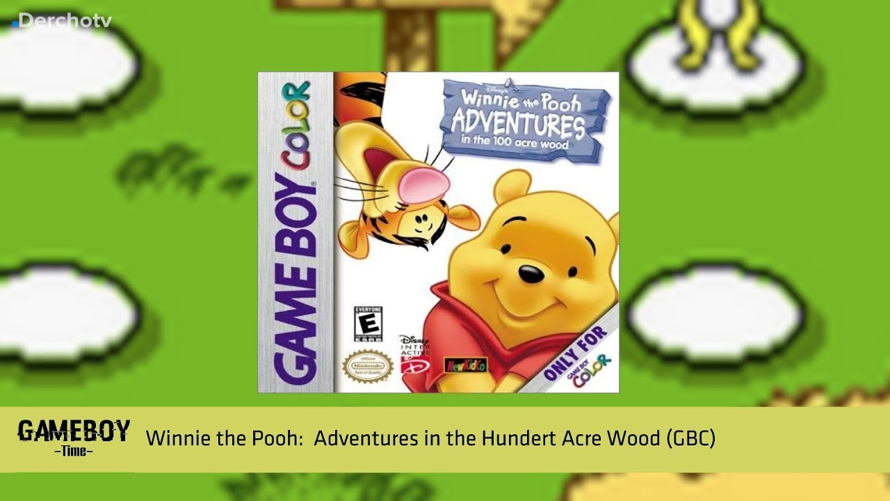 Game boy color pooh wiki - Gameboy Time Winnie The Pooh Adventures In The Hundert Acre Wood Gbc