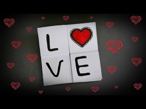 DIY - NEVER ENDING CARD - NEW SUPER EASY TUTORIAL / DIY CARD MAKING IDEAS