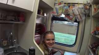 Путешествие на поезде из Москвы в Красноярск (часть 1)
