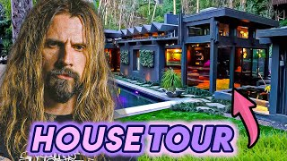 Rob Zombie   House Tour 2020   Hollywood Hills Compound & His Horror Basement