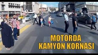 Kamyon kornası ile Ankara trafiği / Yamaha ybr 125