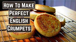 Easy English Crumpet Recipe The Perfect English Crumpets  No Kneading