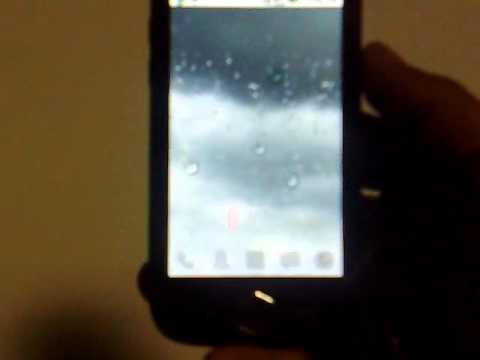 Live Wallpaper on Samsung Omnia i8000 -Android