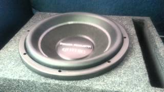 Power Acoustik Gothic subwoofer excursion test