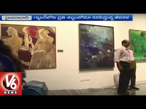 Special Story On Nirmala Birla Gallery Of Modern Art | Hyderabad | V6 News