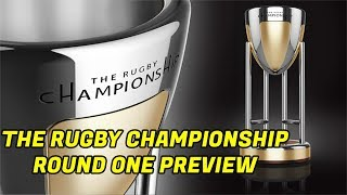 The Rugby Championship Preview - Round One 2019
