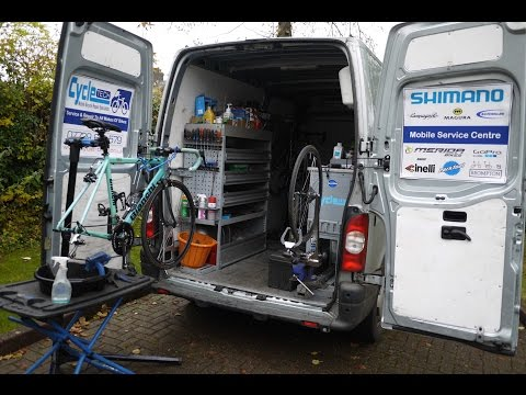 A Day In The Life Of A Mobile Bicycle Mechanic