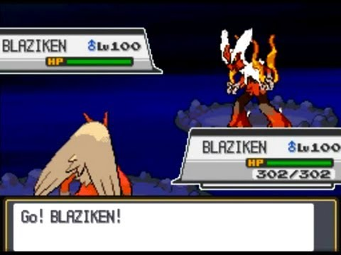 Mega Blaziken Pokemon Soul Silver Youtube