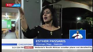 Drama at ST.Mary's hospital after drunk man confronts Esther Passaris