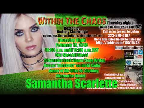 Samantha Scarlette on Within The Chaos