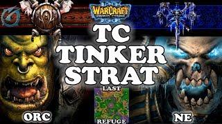 Grubby | Warcraft 3 TFT | 1.29 | ORC v UD on Last Refuge - TC Tinker Strat