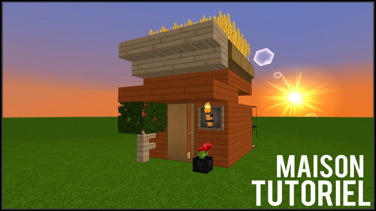 Comment faire une belle petite maison dans minecraft youtube for Comment faire une petite maison minecraft
