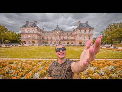 VLOG 76 - اكتشفت معي حديقة لوكسمبورغ - I DISCOVERED THE LUXEMBOURG GARDEN