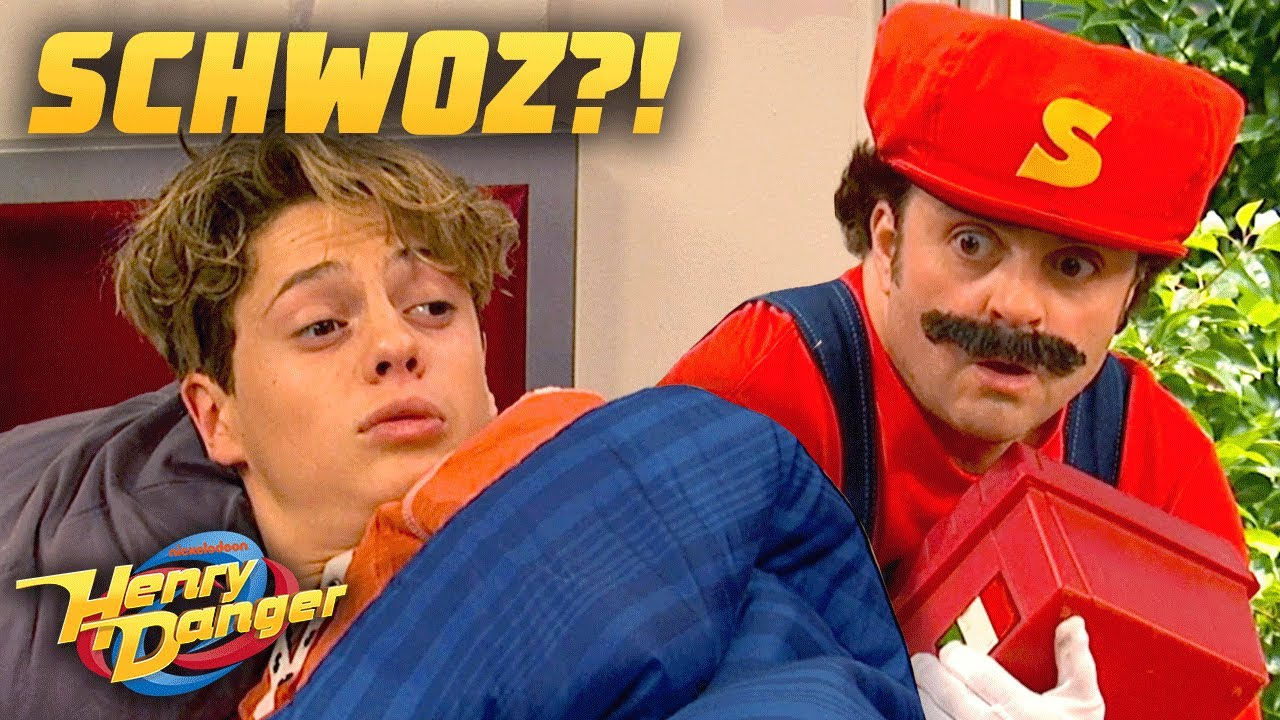 Download Schwoz Is...An Italian Plumber?!   Henry Danger