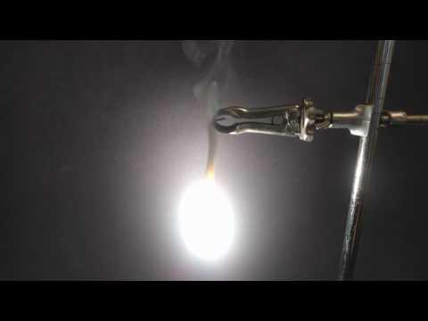 Burning Magnesium Ribbon